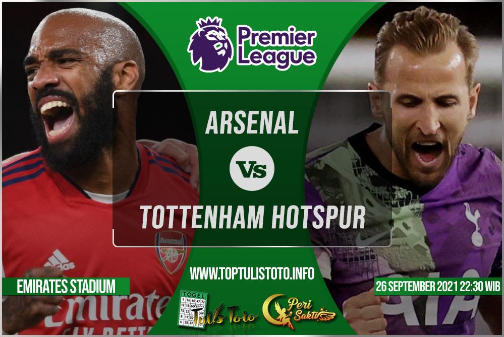 Prediksi Arsenal vs Tottenham Hotspur 26 September 2021