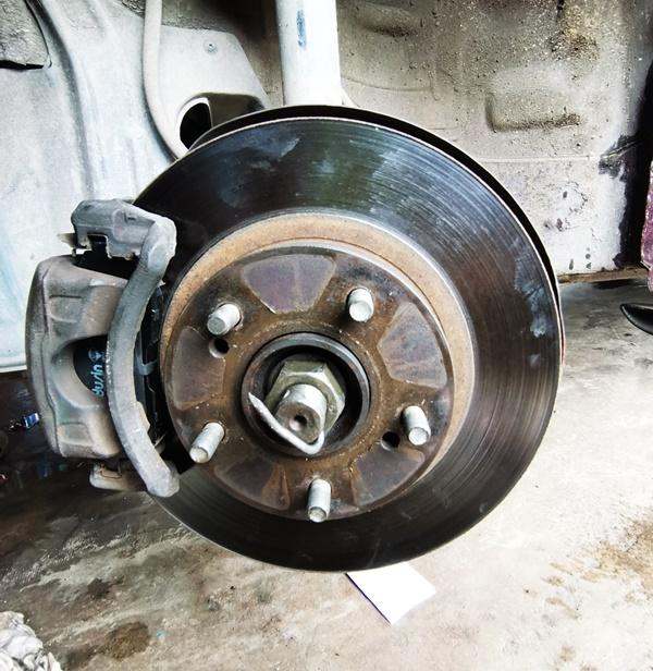 Bila perlu tukar brake pad