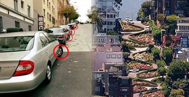"""ทำไมจอดบนถนนลาดชัน""""ต้องหันล้อรถไปทางถนน""""?? กว่า 95%ตอบผิดกันเป็นแถว.."""