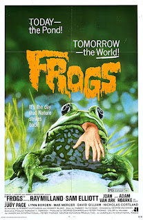 Movie Poster for Frogs (1972)