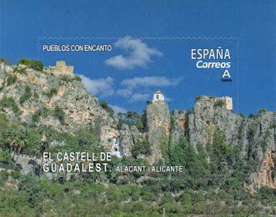 sello, filatelia, Guadalest