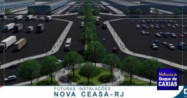 Duque de Caxias inicia obras de construção da nova Ceasa