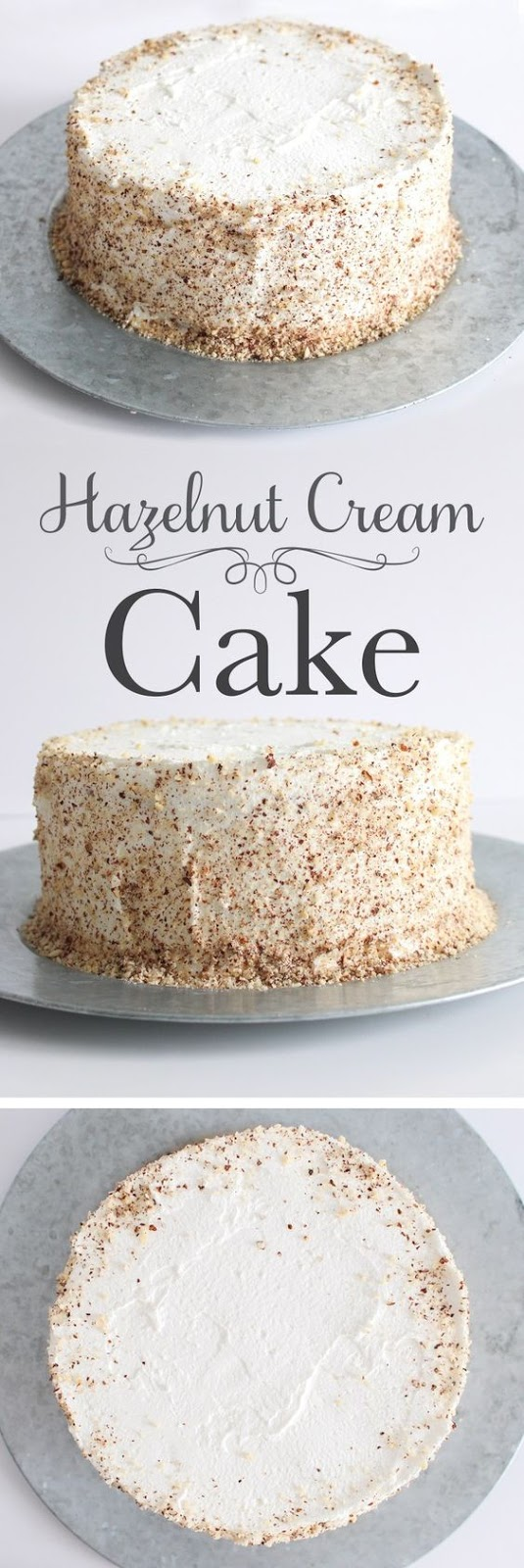 Hazelnut Cream Cake