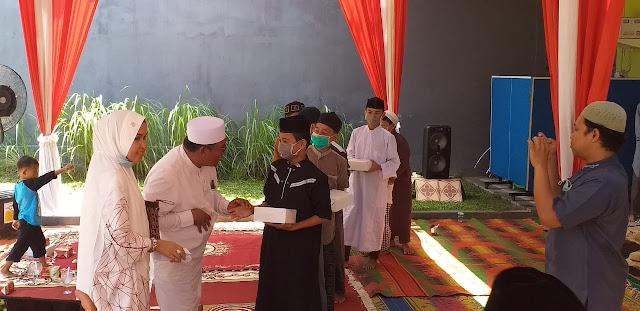 Undang Anak Panti Asuhan, Penceramah Notaris Firdaus Abubakar Peringati Bulan Muharram 1442 H.