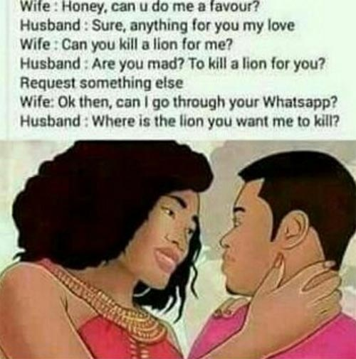 NGLatest ladies, how many of your guys are like this?