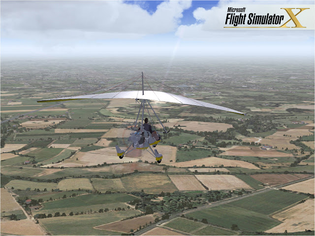 Microsoft Flight Simulator X PC Full Version Screenshot 1