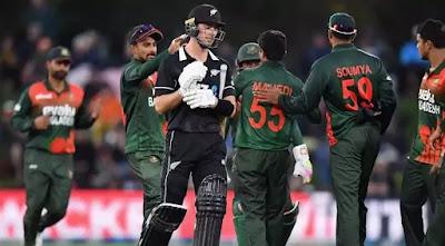 CricketHighlightsz - Bangladesh vs New Zealand 4th T20I 2021