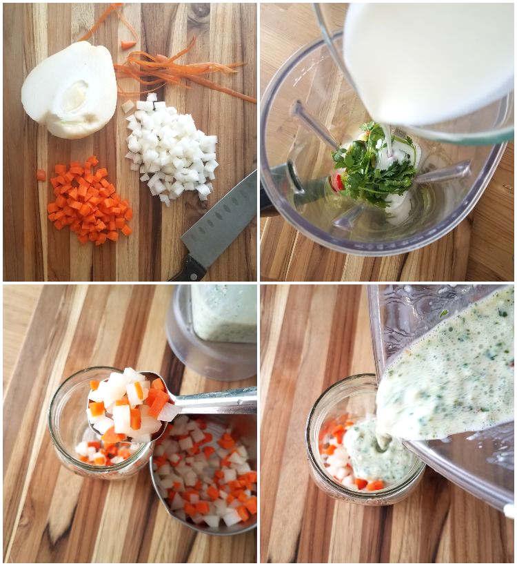 Cómo hacer picante de suero o ajicero de leche