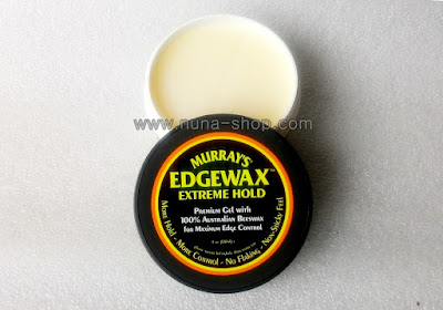 Pomade Murray New Edgewax Extreme Hold Black-Hitam