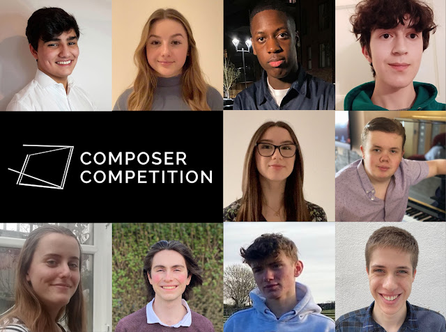 Finalists for the ORA Singers Composer Competition 2021