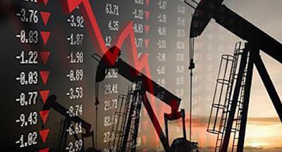 Цены на нефть на мировых рынках рухнули