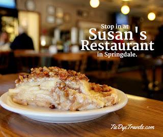 Susans Restaurant In Springdale Feels Like A Diner Dream Tie Dye