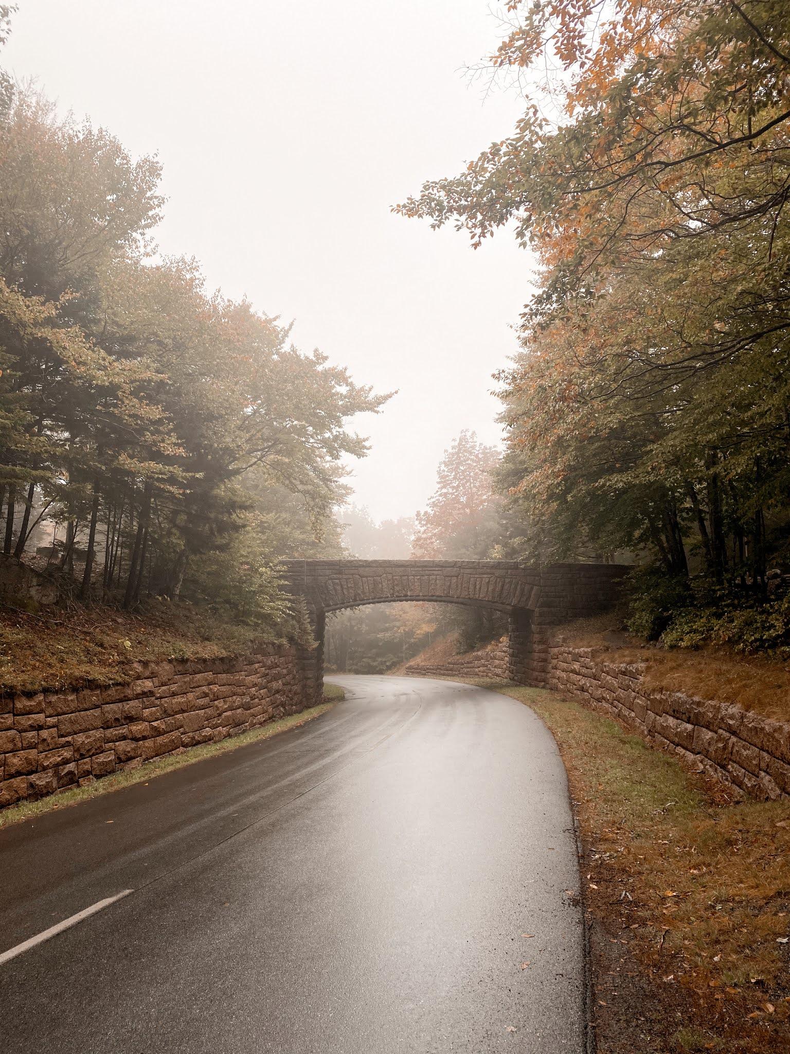 Bridges in Acadia National Park | biblio-style.com