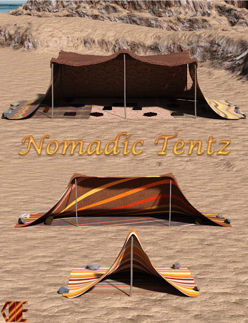 DE Nomadic Tentz