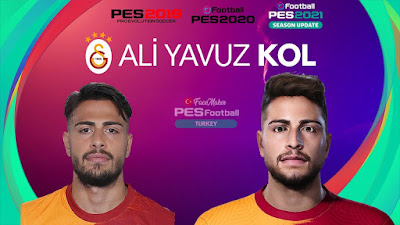 PES 2021 Faces Ali Yavuz Kol by PES Football Turkey