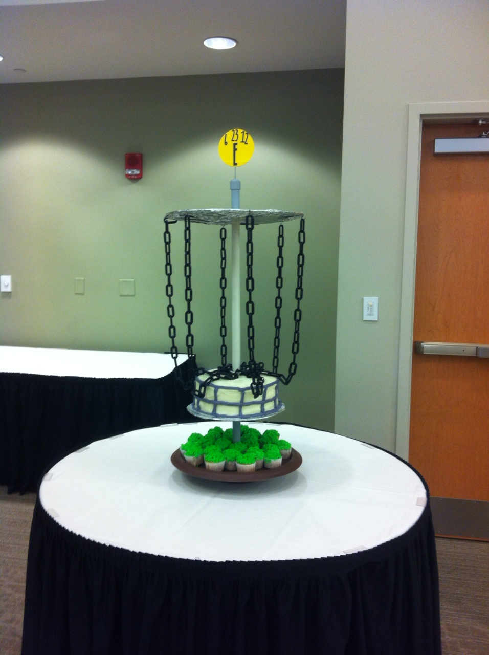 Creations For Celebrations Disc Golf Grooms Cake