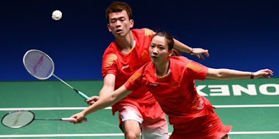Pemain Ganda Campuran di BWF World Tour Finals 2018