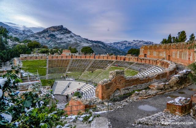 Teatro Grego de Taormina, Sicília