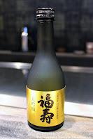 Fukuju Daiginjo Sake at Mouriya Honten in Kobe, Japan