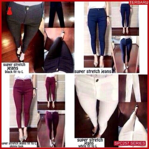 SPC257S48 Super Streetch Basic Jegging Jeans Wanita   BMGShop
