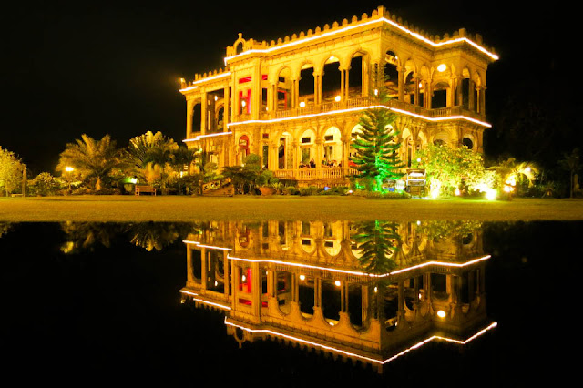 The Ruins of Talisay City at Night