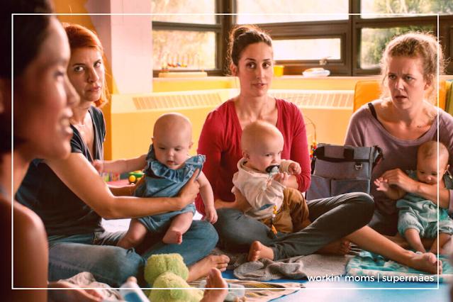 Supermães (workin moms) é uma dica de série do que assistir no dia das mães.