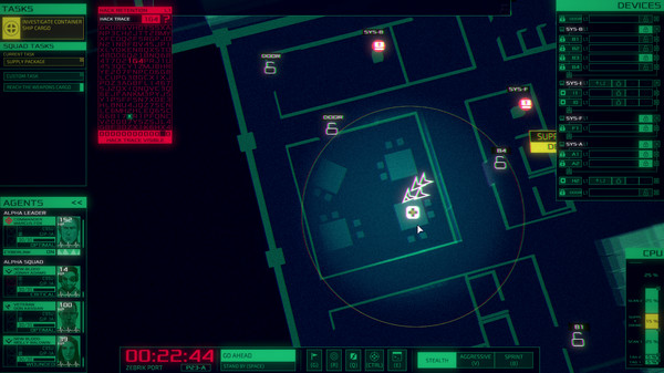 Cyber Ops Free Download PC Game Cracked in Direct Link and Torrent. Cyber Ops – Become a military hacker and help your black ops team reach their goal in this noir cyberpunk tactical game. Scan, hack, overtake, control and manage high tech…