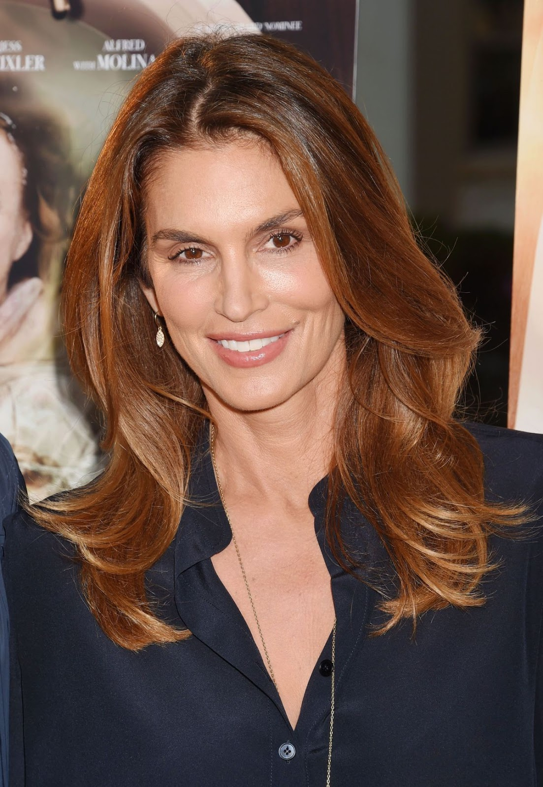HD Photos of Lip Sync Battle actress Cindy Crawford at Sister Cities Premiere In Hollywood