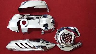 Top gambar modifikasi motor mio m3