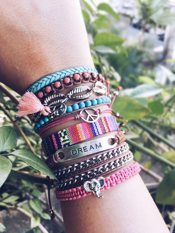 Tendência: Mix de pulseiras