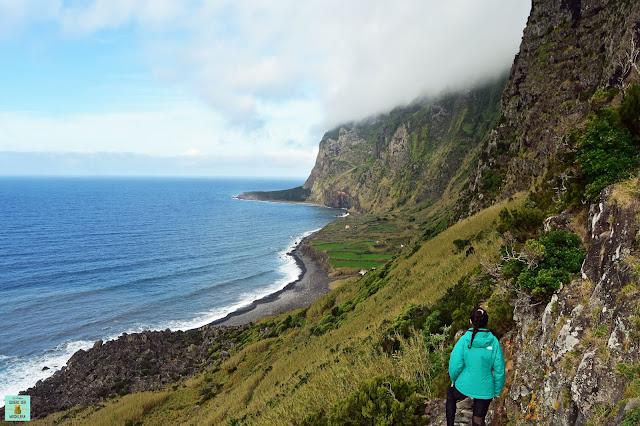 Faja de Lopo Vaz, isla de Flores (Azores)