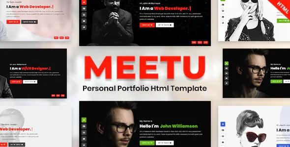 Creative Personal Portfolio HTML Template