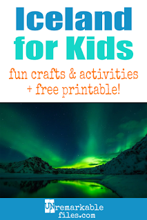 crafts, ideas, and activities for kids! #Iceland #educational