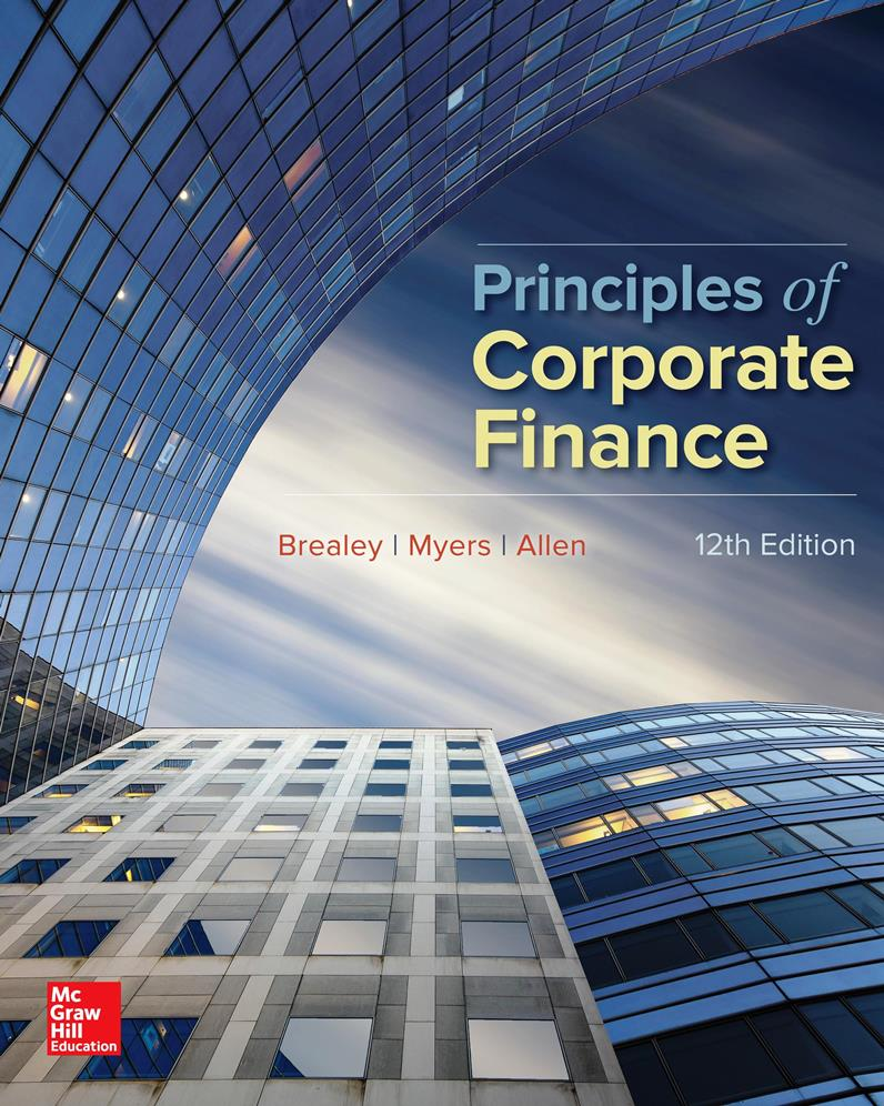 Principles of Corporate Finance, 12th Edition – Richard A. Brealey