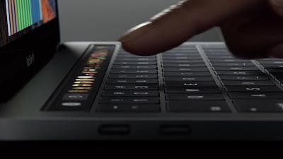 Botones tecla ESC teclado touchbar
