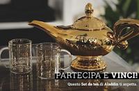 Logo EMP : vinci gratis un esclusivo set da Tea di Aladdin