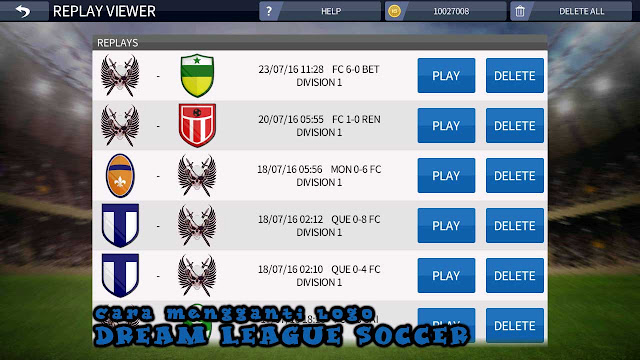 Cara Mengganti Logo Dream League Soccer