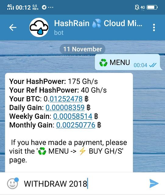 Bitcoin Bot Telegram Terbaru 2018