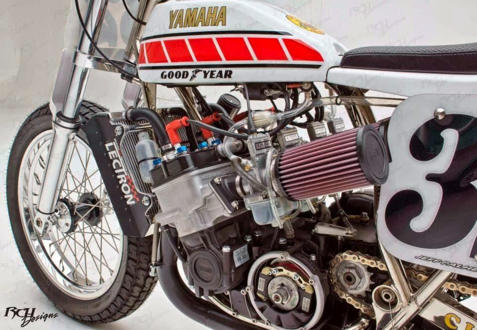 Mercenary Garage Yamaha Tz 750 Flat Trackers