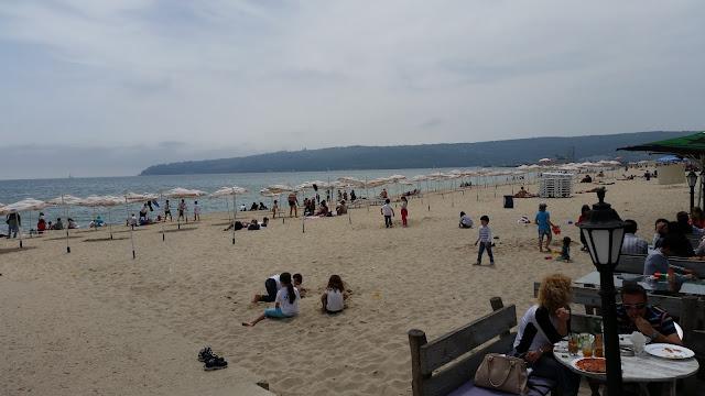Am Strand in Bulgarien