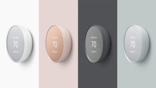 Google announces a thermostat that uses radar to sense your approach