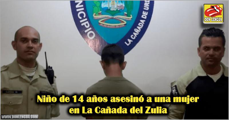 Niño de 14 años asesinó a una mujer en La Cañada del Zulia