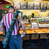 Anti-lockdown protesters carry weapons into North Carolina sandwich shop
