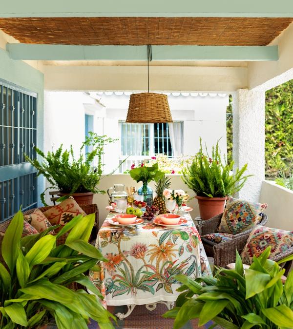 decoracion estilo boho chic casa sevillana chicanddeco blog