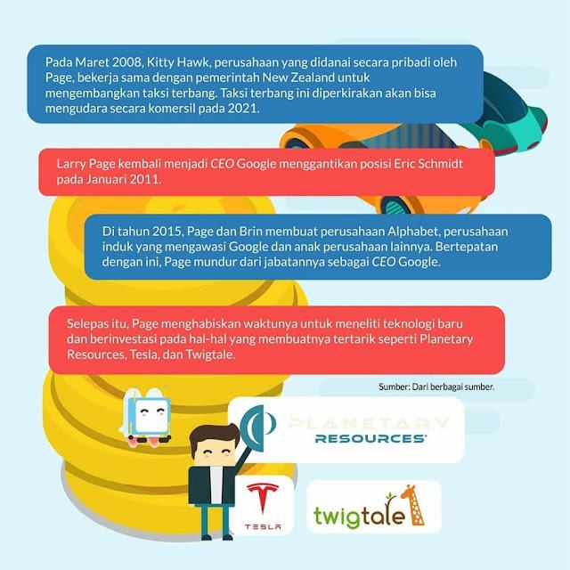 Biografi Larry Page Sang Pendiri Google 3