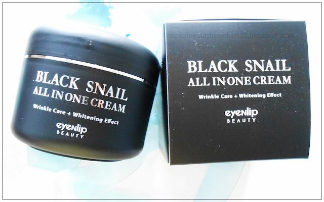 Eyenlip Black Snail All In One Cream
