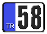 58 Sivas plaka kodu