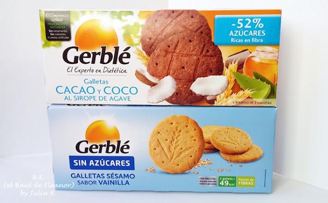 Galletas Gerblé cacao y coco y sésamo y vainilla