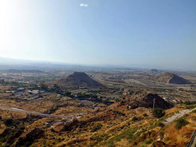 vistas desde los miradores de Mojácar