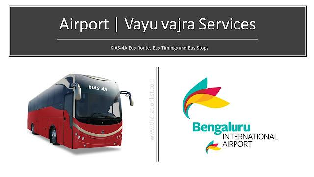 KIAS-4A Vayu vajra Services Bus Route